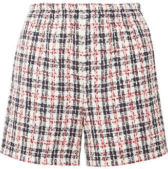 Gucci Metallic Tweed Shorts - Ivory