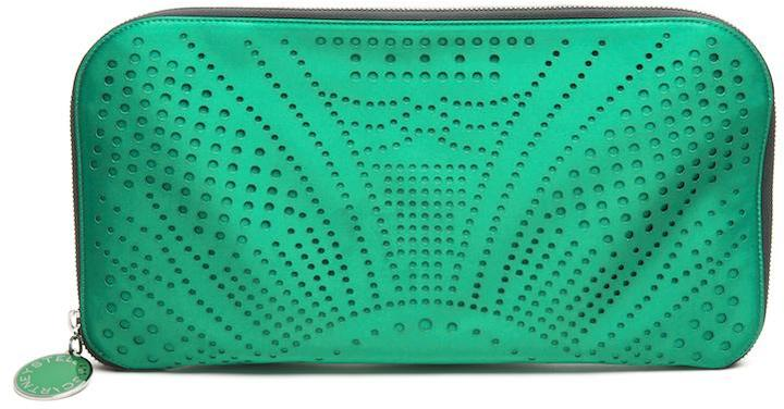 Oversized Perforated Clutch