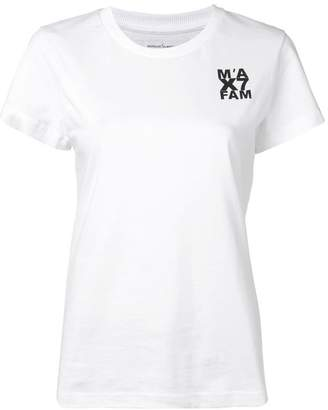 7 For All Mankind x Marques Almeida logo print T-shirt