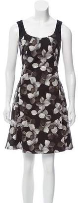 Jason Wu Floral Print A-line Dress
