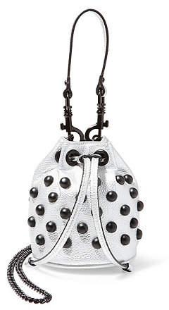 Silver cross body bag by steve madden