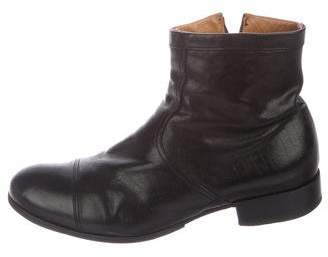 Fiorentini+Baker Leather Zip Ankle Boots