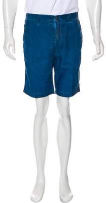 Massimo Alba Corduroy Flat Front Shorts