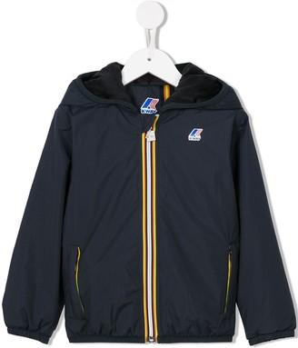 K Way Kids 'Lily Plus Double Reversible' rain jacket