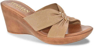 Italian Shoemakers Lilana Wedge Sandal - Women's