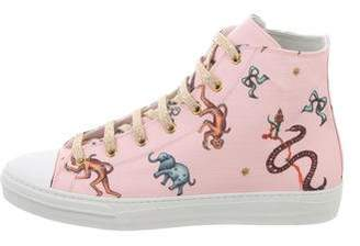 Giannico Jungle High-Top Sneakers w/ Tags