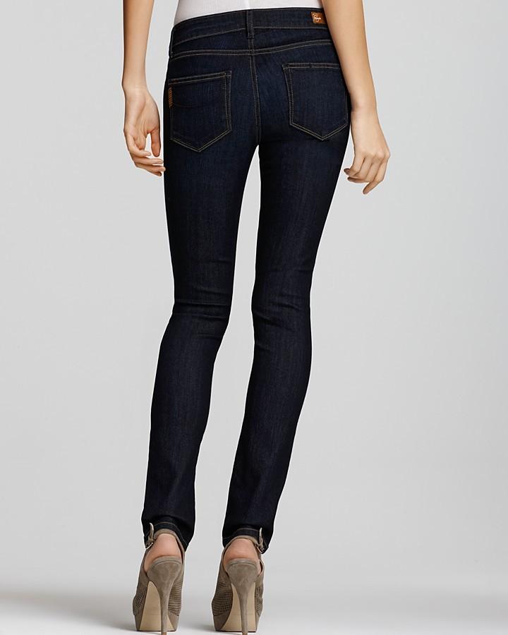 "Paige Skyline 12"" Skinny Jeans in Fountain Wash"