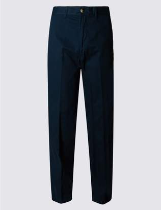 Marks and Spencer Pure Cotton Chinos with Active Waist