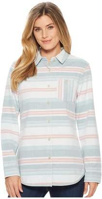 Pendleton Reversible Serape Cotton Shirt Women's Long Sleeve Button Up