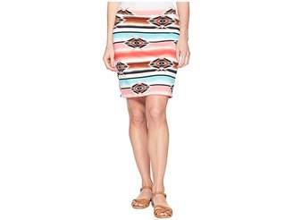 Wrangler Ponte Pencil Aztec Skirt