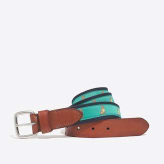 J.Crew Factory Embroidered patterned belt