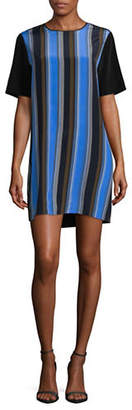 Diane von Furstenberg Short-Sleeve Silk Dress