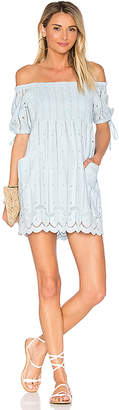 Tularosa x REVOLVE Quinn Dress in Baby Blue $158 thestylecure.com