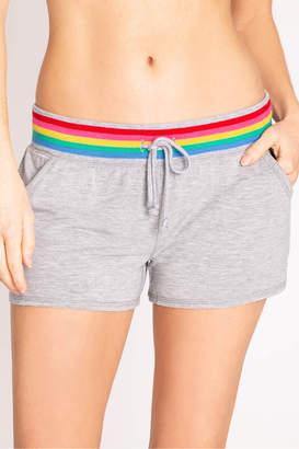 PJ Salvage Rainbow Band Shorts
