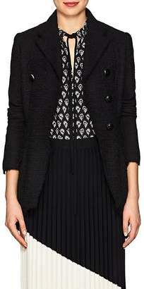 Proenza Schouler Women's Tweed Asymmetric Double-Breasted Blazer