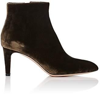 Gianvito Rossi Women's Velvet Ankle Boots