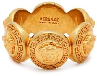 Versace - Medusa Crest Ring - Womens - Gold