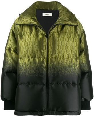 Fendi oversized puffer jacket