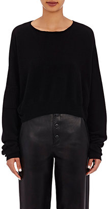Helmut Lang Women's Crop Sweater $415 thestylecure.com