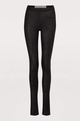 Rick Owens Leather leggings