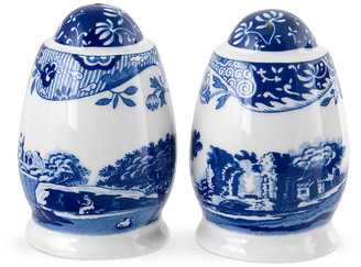 Spode Pair of Porcelain S&P Shakers