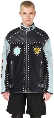 Diesel Black Gold Diesel Leather jackets BGPSZ - Black - 44