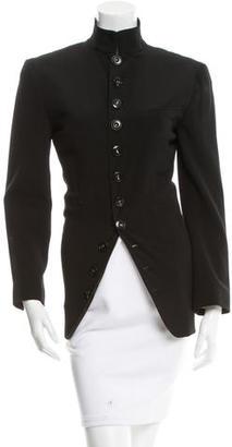 Jean Paul Gaultier Notch-Lapel Wool Blazer $125 thestylecure.com