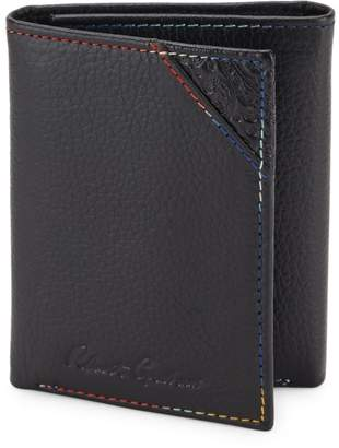 Robert Graham Clarke Leather Tri-fold Wallet