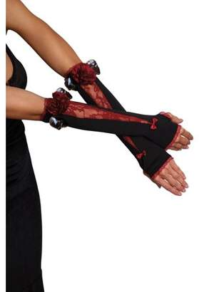 Dreamgirl Women's Spookilicious Goth Witch Costume Gloves