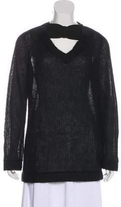 Prada Medium-Weight Long Sleeve Sweater