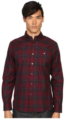 Todd Snyder Red Plaid Shirt Men's Clothing