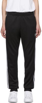 adidas Black 3-Stripes Lounge Pants