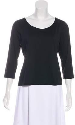 White + Warren Knit Long Sleeve Top