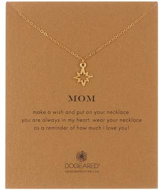 Dogeared Mom Open North Star Pendant Necklace