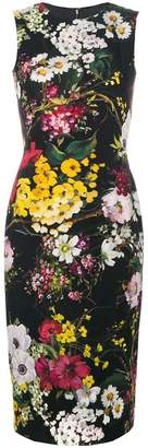 Dolce & Gabbana floral fitted dress