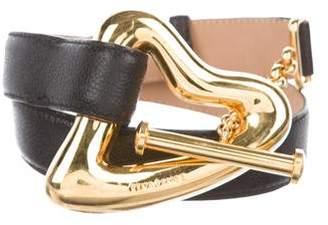 Rena Lange Toggle Heart Belt