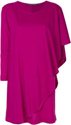Alberta Ferretti draped knitted dress