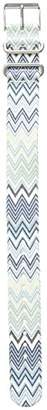 Timex TW7C24100 Weekender 20mm Pattern Nylon Strap