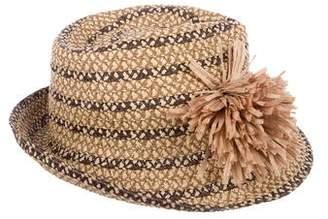 Eric Javits Straw Wide Brim Hat