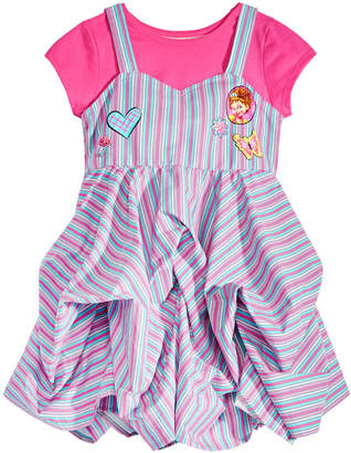 Disney Toddler Girls 2-Pc. Fancy Nancy T-Shirt & Cotton Dress Set