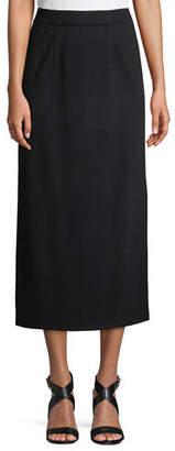 """Misook 34"""" Straight Knit Skirt"""