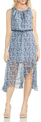 Vince Camuto Boutique-Floral Sleeveless Dress
