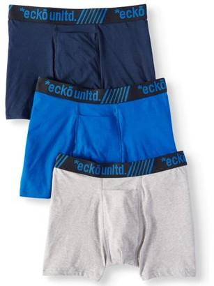 8e69f186093a Ecko Unlimited Men's 3pk Cotton Modal Spandex Boxer Brief