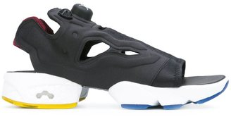 Reebok 'Instapump Fury' sandals $129.13 thestylecure.com