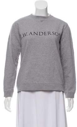J.W.Anderson Long Sleeve Logo Print Sweatshirt