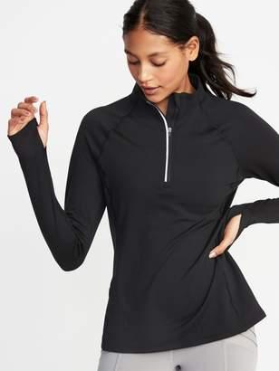 Old Navy 1/4-Zip Lightweight Fleece Pullover for Women