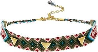 Rebecca Minkoff Triangle Stud Friendship Choker Necklace