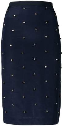 Cavallini Erika embellished pencil skirt