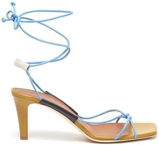 Malone Souliers x Roksanda 'Camila' wrap around tie strappy leather sandals