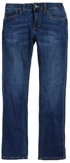 Comfort Slim Fit Straight Leg Jeans